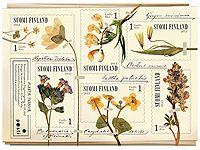 Postin verkkokauppa Postimerkit Kevät kukkii - kuuden (6) postimerkin pienoisarkki