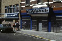 discotheek Cartouche Utrecht (1979 Utrechts Archief). Nu Stairway
