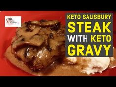 This week we bring you a delicious Keto Homestyle Comfort food classic dish. We present a Keto Salisbury Steak with Keto Mushroom Gravy, this is absolutely delicious - who say's that eating Keto or Low Carb has to be boring. Low Carb Keto, Low Carb Recipes, Beef Recipes, Cooking Recipes, Healthy Recipes, Keto Mushrooms, Eating Vegetables, Salisbury Steak, Comfort Food