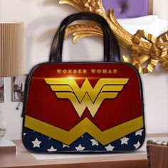 Wonder Woman Justice League Female Furies Women's Classic Carrier Purse Leather Handbag by PositiveThing on Etsy https://www.etsy.com/listing/208581761/wonder-woman-justice-league-female