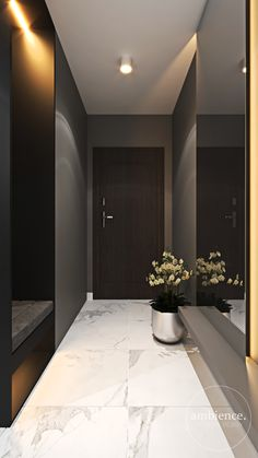 Home Hall Design, Hall Interior Design, Interior Design Images, Corridor Design, House Design, Apartment Interior, Apartment Design, Living Room Decor Fireplace, Home Entrance Decor