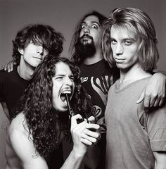 And what so ever I've fought off, became my life; Soundgarden.