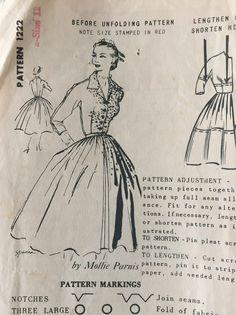 Spadea 1222 Pattern Mollie Parnis Dress by VintageRetrievers