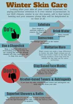 Winter Skin Care >> PIN or LIKE this Interesting InfoGraphic #skincare #acnetreatment #infographics >> Share It with Your Friends, Relatives and Colleagues >> VISIT: www.SalonSpaAssociation.com