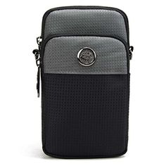 liangdongshop 58 Water Resistant Oxford Waist Pack Phone Bag Crossbody PouchDark Grey *** Read more reviews of the product by visiting the link on the image.