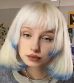 Hair Color Streaks, Hair Dye Colors, Two Color Hair, Cut My Hair, New Hair, Hair Cuts, Hair Inspo, Hair Inspiration, Hair Reference