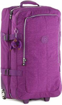 Kipling Womenu0027s Madras Duffel/Travelgear K13250607 Bright Purple:  Amazon.co.uk: