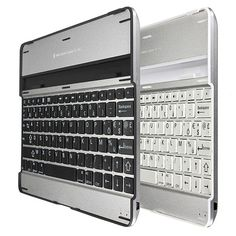 Bluetooth 3.0 Aluminium Keyboard case with stand for iPad via Goods from Michal. Click on the image to see more!
