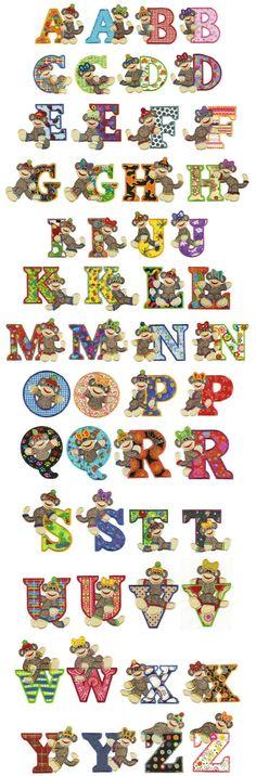 Alfabeto Monitos