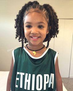 Little Black Girls Hairstyles : (notitle) Lil Girl Hairstyles, Black Kids Hairstyles, Girls Natural Hairstyles, Kids Braided Hairstyles, Afro Hairstyles, Elegant Hairstyles, Braids For Kids, Girls Braids, Henna Designs