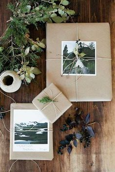 Christmas Decor & Wrapping Inspiration I Amanda Totoro Design