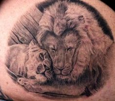 Lion tattoo designs are very popular in the tattoo industry right now. In fact, they are one of the most sought after designs on the market right now. Everyone wants to hunt, fight, and be like a Lion Elephant Tattoos, Wolf Tattoos, Nature Tattoos, Animal Tattoos, Girl Tattoos, Tatoos, Girls With Sleeve Tattoos, Cool Tattoos For Guys, Trendy Tattoos