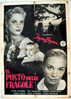 """La recensione di """"Il posto delle fragole (Smultronstället)"""" di Ingmar Bergman (1957) con Victor Sjöström, Bibi Andersson, Ingrid Thulin, Gunnar Björnstrand, Max von Sydow"""