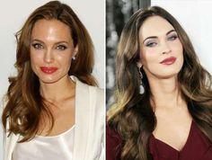 Angelina Jolie and Megan Fox - Buzz Foto/Rex Features; Broadimage/Rex Features
