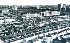 Madrid-Atleti en el Bernabeu en los años 50-60