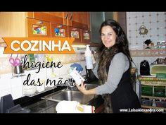 Cozinha • Higiene das Mãos • www.luisaalexandra.com