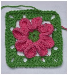 Ikkeismooi: There's that then. . . Flower granny pattern