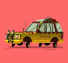 Ido Yehimovitz´s illustration Greatest Rides – pt.1