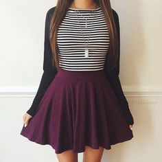Awesome Back-to-School Outfit Ideas 2017-2018 Check more at http://24myfashion.com/2016/back-to-school-outfit-ideas-2017-2018/