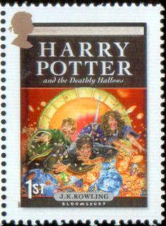 Literary Stamps: Rowling, J.K. (b. 1965)