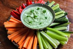 Celery, Hummus, Clean Eating, Vegetables, Ethnic Recipes, Food, Party, Cilantro, Red Peppers