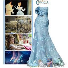 Cinderella - Natalie Dormer by fashionqueen76 on Polyvore featuring Posh Girl, Olympia Le-Tan, Disney, disney, cinderella, princess and Disneyprincess