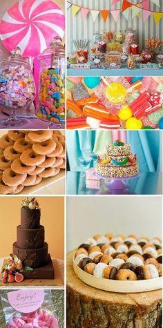 Mesa de postres para tu boda