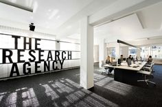 The Research agency office by Jose Gutiérrez, New Zealand.