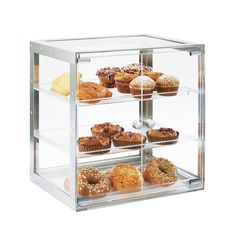 Urban Case Display Item: 3413-55 and 325-13-12. Dual front doors allow for self-serve to complement any delicious food! http://calmil.com