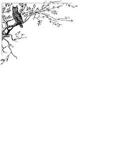 Bordes decorativos de hojas, hojas personalizadas para trabajos, decora páginas.