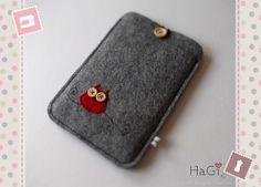 Felt Kindle Case Owl Handmade EReader Case by HerzigGenaehtes, €22.80