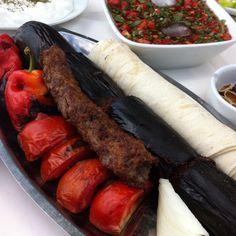 Eggplant Kebap - Urfa, Turkey