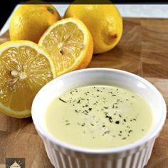 Lemon and Garlic Butter Sauce. This is delicious served with seafood, fish, chicken or pork. Very easy and quick to make too. ( If Sauce is to thin thicken with cornflour to taste. Sauce Recipes, Fish Recipes, Seafood Recipes, Dinner Recipes, Cooking Recipes, Peanut Recipes, Lemon Recipes, Quick Recipes, Delicious Recipes