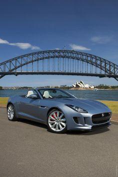 ♂ Grey car 2013 Jaguar F-TYPE #ecogentleman #automotive #cars #transportation