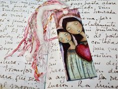 Un Solo Corazón Mother Daughter Love Laminated Bookmark