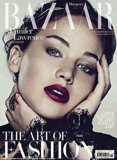 Jennifer Lawrence | Harper's Bazaar UK