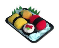Sushi dog toys!