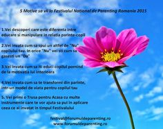 5 Motive sa vii la Festivalul National de Parenting Romania 2015  Bucuresti 13 Iunie 2015  #FestivalulNationaldeParenting2015 #Romania #MirelaHorumba Parenting, Wordpress, Childcare, Natural Parenting