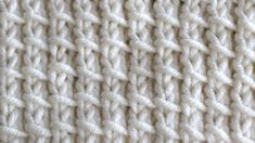 Bamboo Knit Stitch Pattern and Video Tutorial by Studio Knit on YouTube