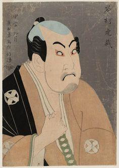 Actor Tanimura Torazô as Washizuka Happeiji - Toshusai Sharaku - 1794 (Museum of Fine Arts Boston)