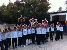 Helping the PE Class in El Salvador (WLC Trip)