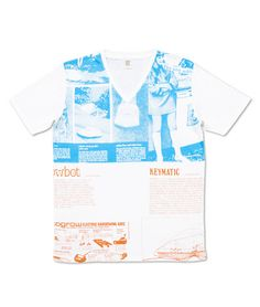 Archigram V Neck Short Sleeve(Archigram Design #43)