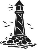 lighthouse stencil | Recycle, re-use, redesign: Free lighthouse stencil