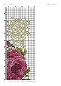 Geri Dönüşüm Projeleri Cross Stitch Rose, Cross Stitch Embroidery, Cross Stitch Patterns, Prayer Rug, Embroidery Designs, Africa, Bouquet, Pink, Watches