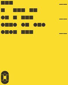 Tomato - O Exhibition Morse CodePoster