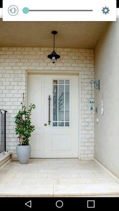 Front Door Entrance, Main Entrance, House Entrance, Entry Doors, Door Design, Exterior Design, House Design, Cozy Apartment Decor, House Front