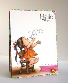 Bubbles Girl by Mo - Alice on Mo's Dream Team