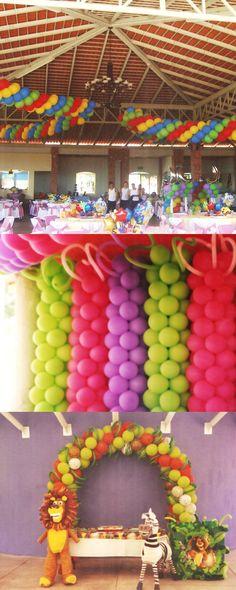 Arcos de globos.