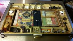 Coffee Table Album - made by Kathy Orta for Tim Holtz CHAW 2012