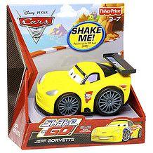 Cars 2 Shake 'N Go Jeff Corvette